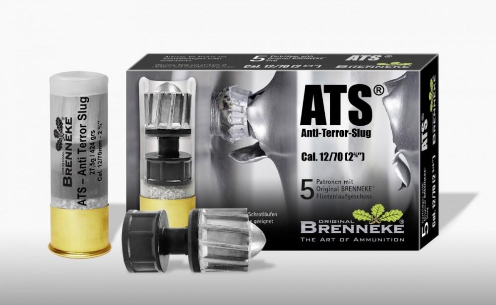 Náboje Brenneke ATS Anti-Terror-Slug 12/70 balení 5ks