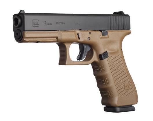 Pistole Glock 17 4.GEN FDE