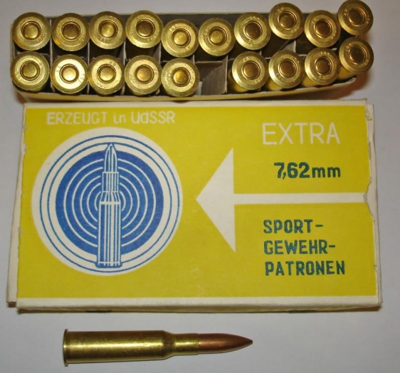 Náboje 7,62x54R sSe 13 g VM Match - EXTRA Sport 20ks