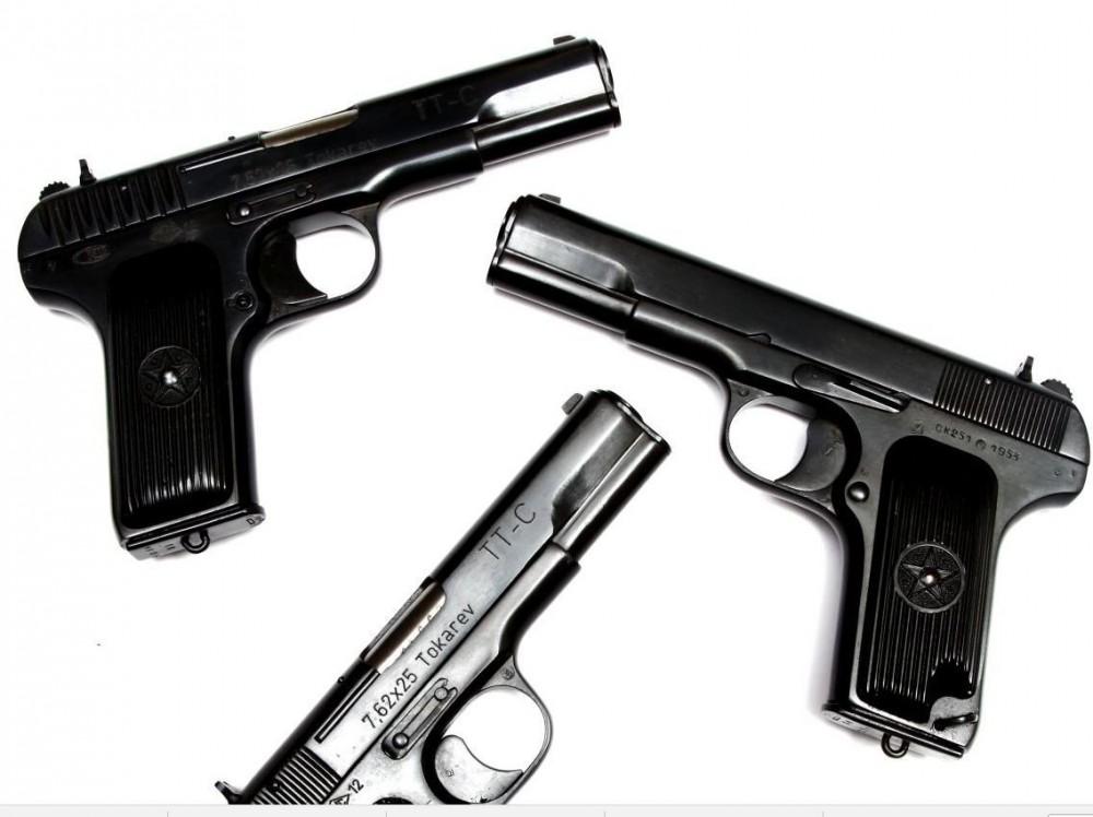 Pistole Tokarev TT 33 výroba 50á léta. č.4