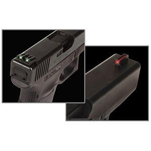Mířidla Truglo Fiber-Optic pro Springfield XD/XDM/XDS - červená/zelená