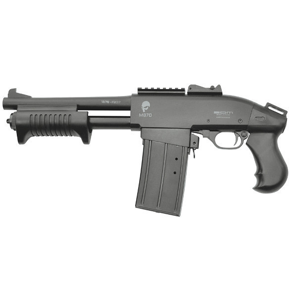 Opakovací brokovnice S.D.M. M870 SHORTY 12/76