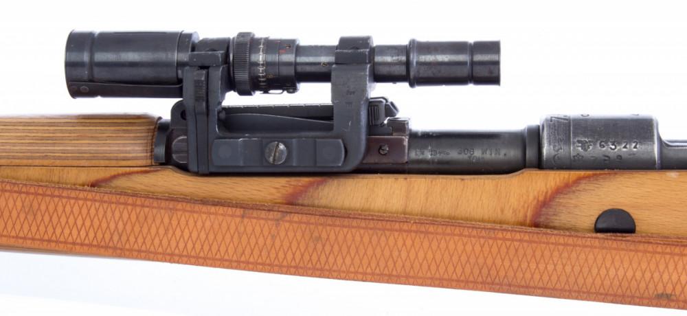 Puška Mauser KAR 98 s optikou .308 Win č.3