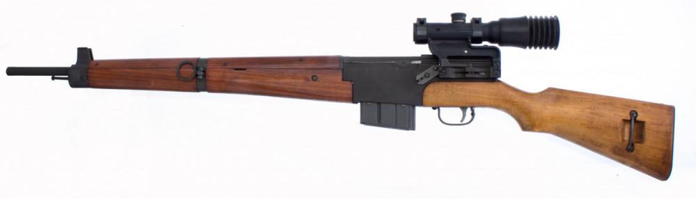 Samonabíjecí puška MAS 49 s optikou