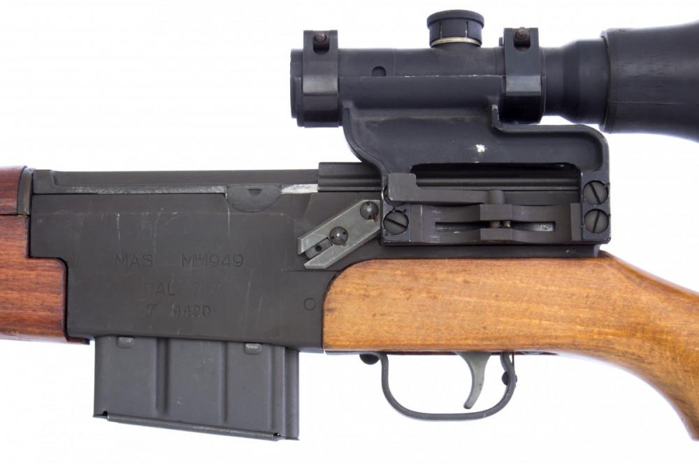 Samonabíjecí puška MAS 49 s optikou č.2