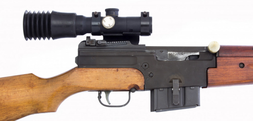 Samonabíjecí puška MAS 49 s optikou č.3