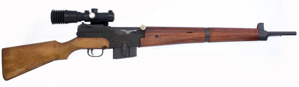 Samonabíjecí puška MAS 49 s optikou č.4
