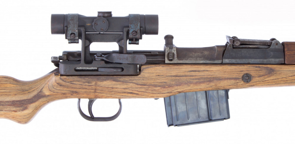 Puška samonabíjecí Gewehr 43 s optikou  7,92 mm č.3