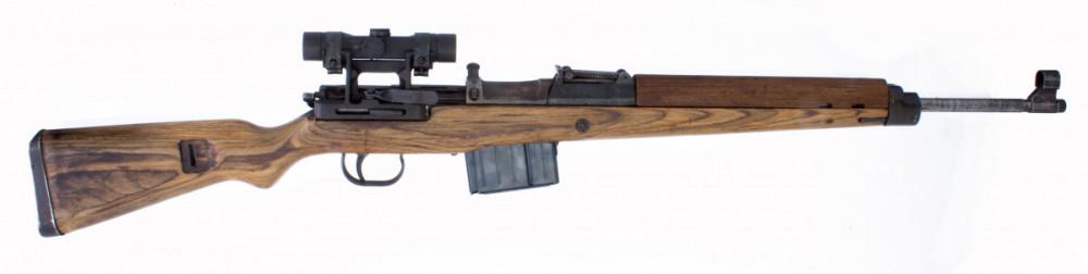 Puška samonabíjecí Gewehr 43 s optikou  7,92 mm