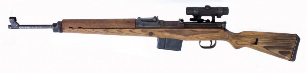 Puška samonabíjecí Gewehr 43 s optikou  7,92 mm č.2