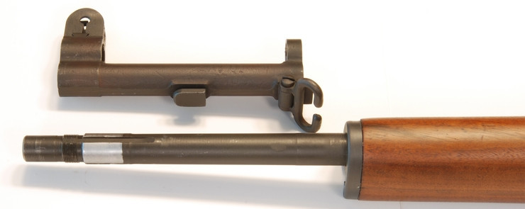 M1 Garand  gas block s mířidly