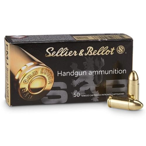 Náboje 9mm Luger Sellier & Bellot FMJ č.1