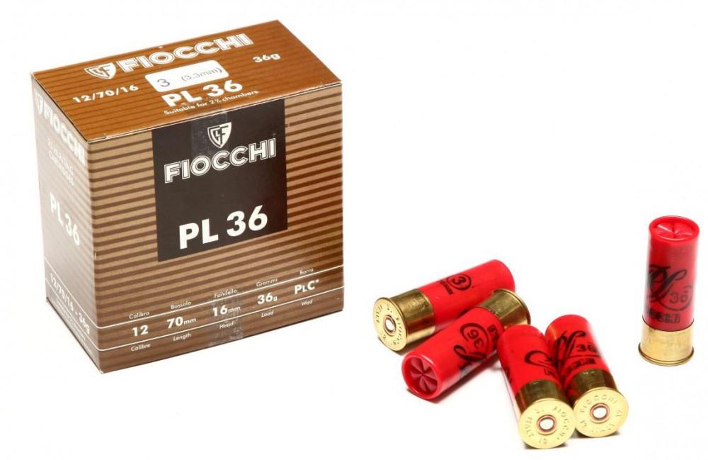 Náboje FIOCCHI 12/70mm 3,3mm 36g