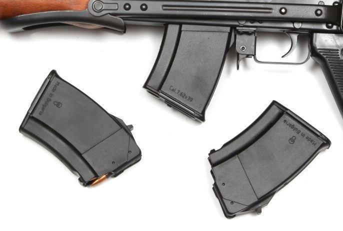 Zásobník AK 47, 10ran černý polymer
