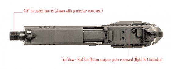 Pistole REX Zero 1 Tactical č.5