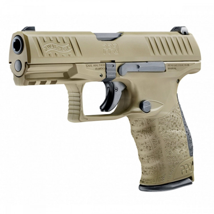PISTOLE WALTHER PPQ M2 4'' 9X19MM, PS, FDE