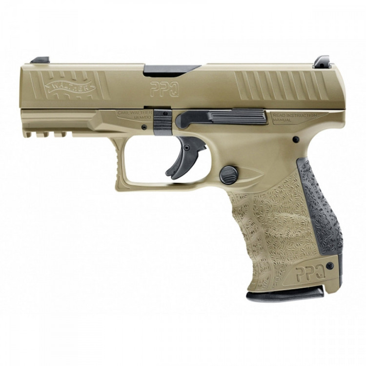 PISTOLE WALTHER PPQ M2 4'' 9X19MM, PS, FDE č.2