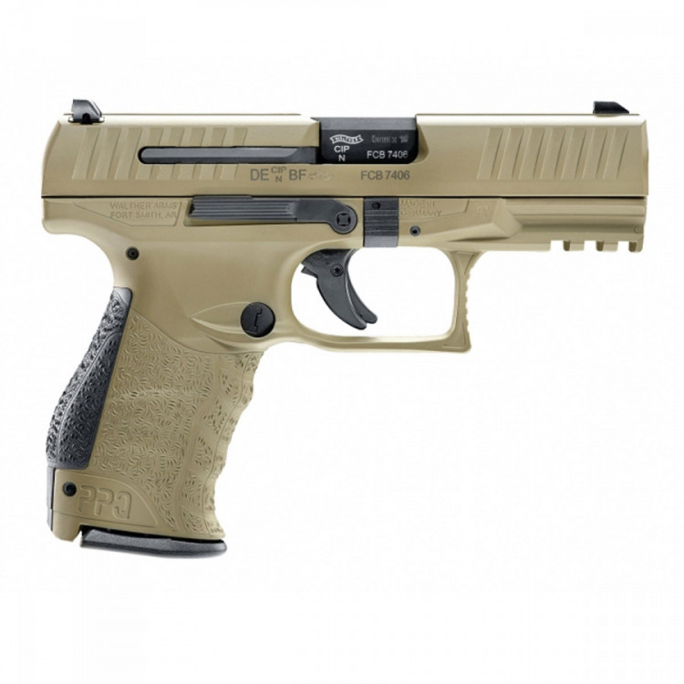 PISTOLE WALTHER PPQ M2 4'' 9X19MM, PS, FDE č.3