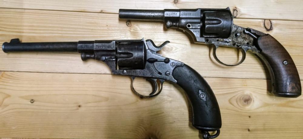 Reichsrevolver M79 + další kus na náhradní díly č.1