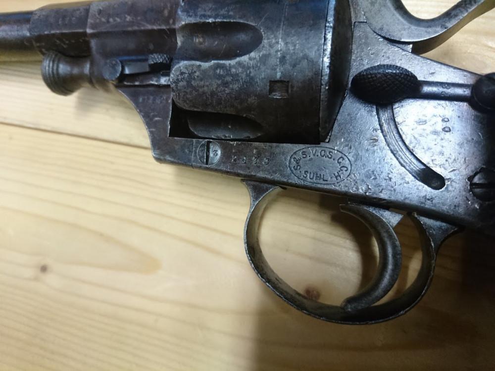 Reichsrevolver M79 + další kus na náhradní díly č.3