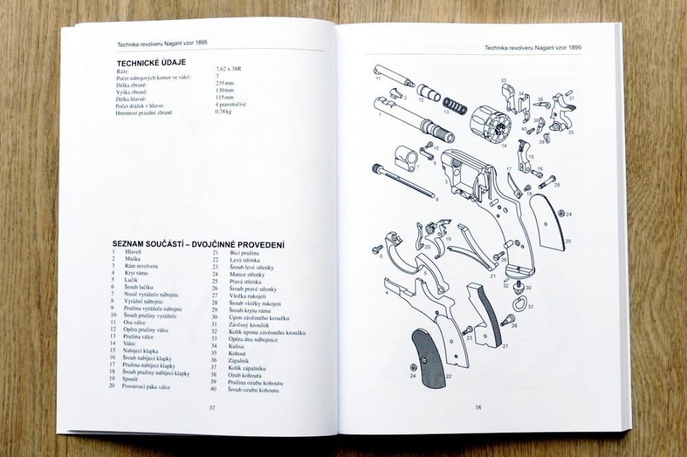 Kniha Revolver Nagant 1895, Jan Balcar č.2