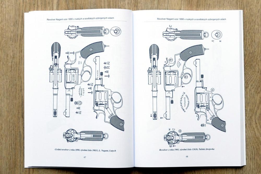 Kniha Revolver Nagant 1895, Jan Balcar č.3