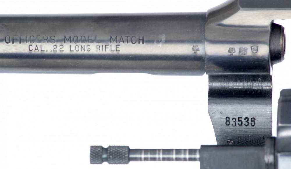 Revolver Colt Officers Model Match č.2