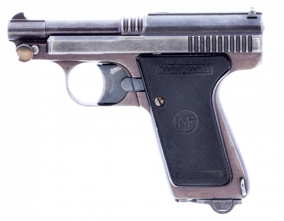 Pistole samonabíjecí  Le Français 7,65 Manufrance