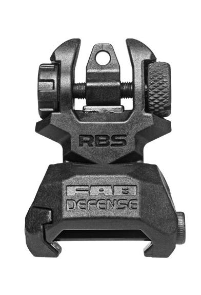 FAB Defense RBS FAB Defense RBS zadní hledí - černé