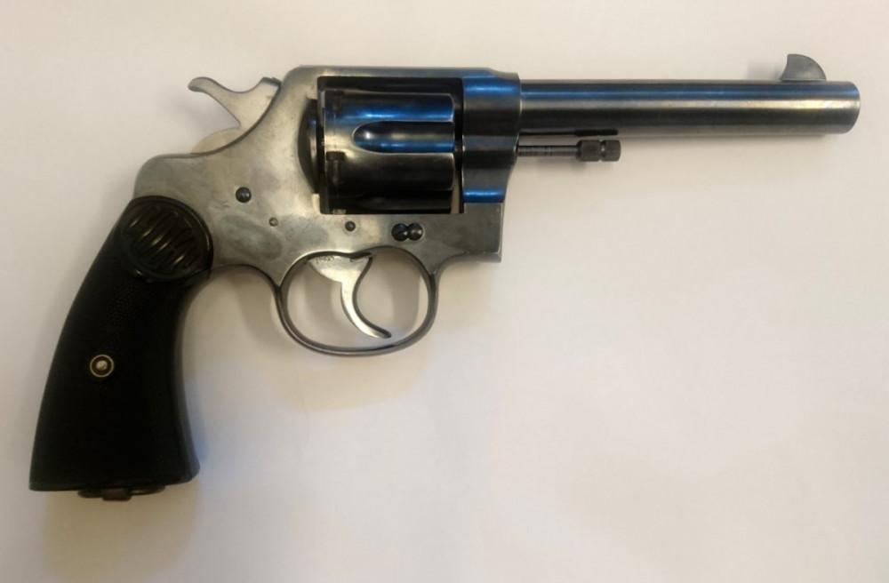 Revolver Colt New Service cal .45 Colt č.2
