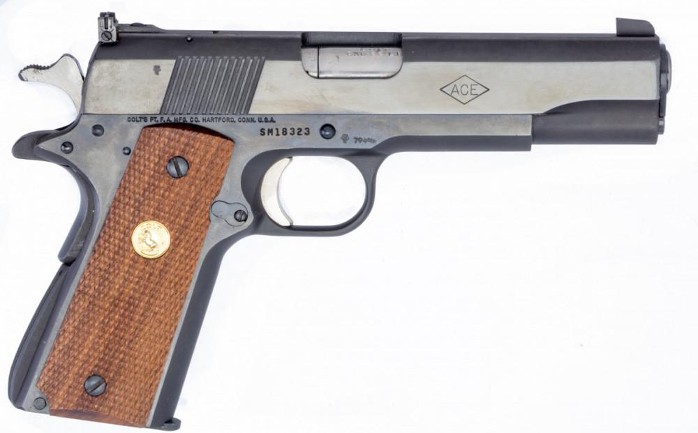 Pistole Colt ACE č.3