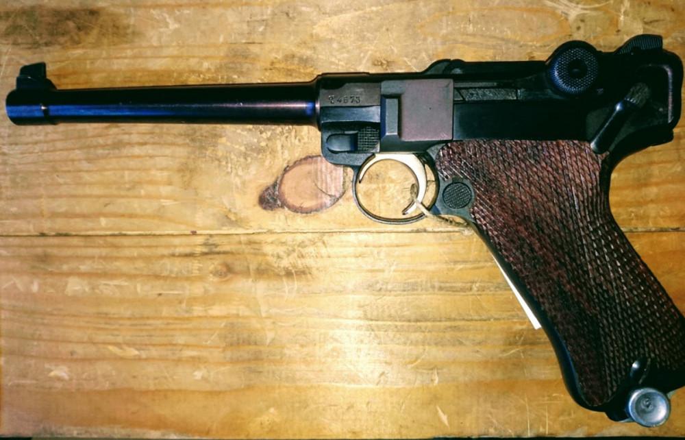 """Pistole P08 """"Námořnický model"""""""