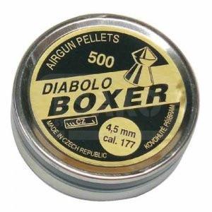 Diabolky Příbram BOXER 4,5mm 500ks
