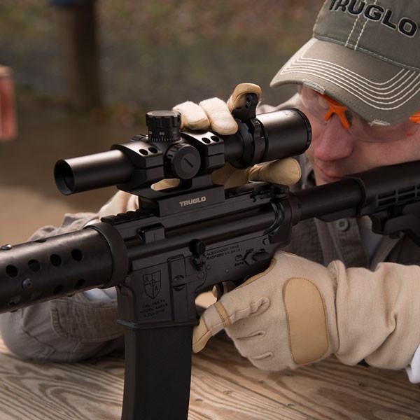 TRUGLO SCP Tac 1-6x24 30mm IR SPC č.4