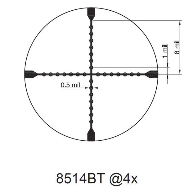 TRUGLO SCP Tac 1-6x24 30mm IR SPC č.5