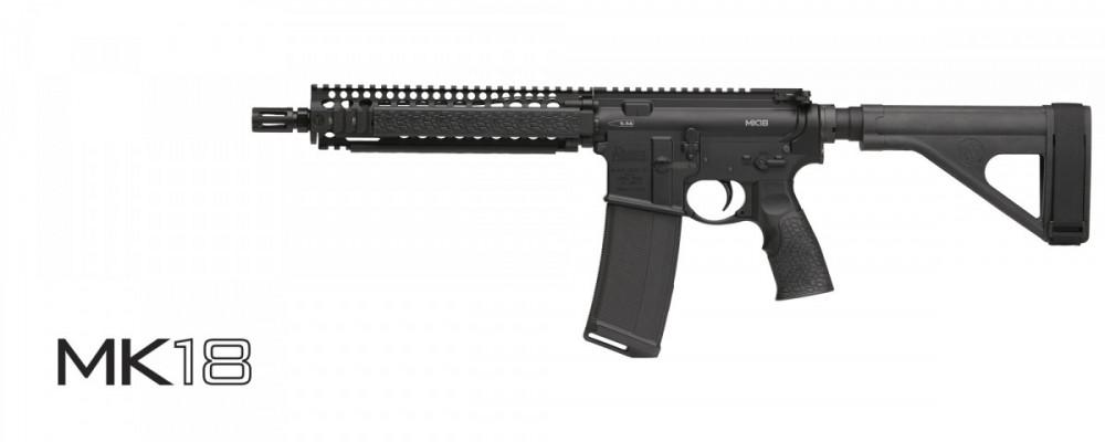 "Samonabíjecí puška Daniel Defense – DDM4 MK18 10,3"" cal .223 rem"