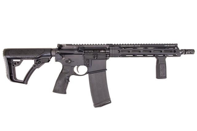 Samonabíjecí puška Daniel Defense – DDM4 V7 S Black M-lok 11,5