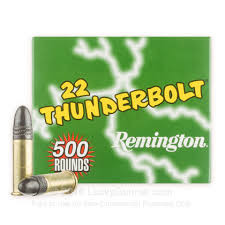Náboje .22 LR HV TC SB Remington Thunderbolt