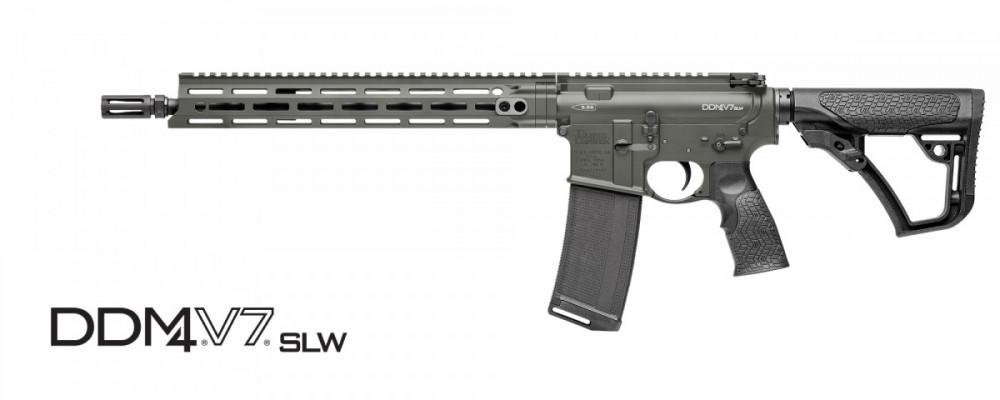 Samonabíjecí puška Daniel Defense – DDM4 V7 SLW DEEP WOODS M-lok 16'' cal .223 rem č.1