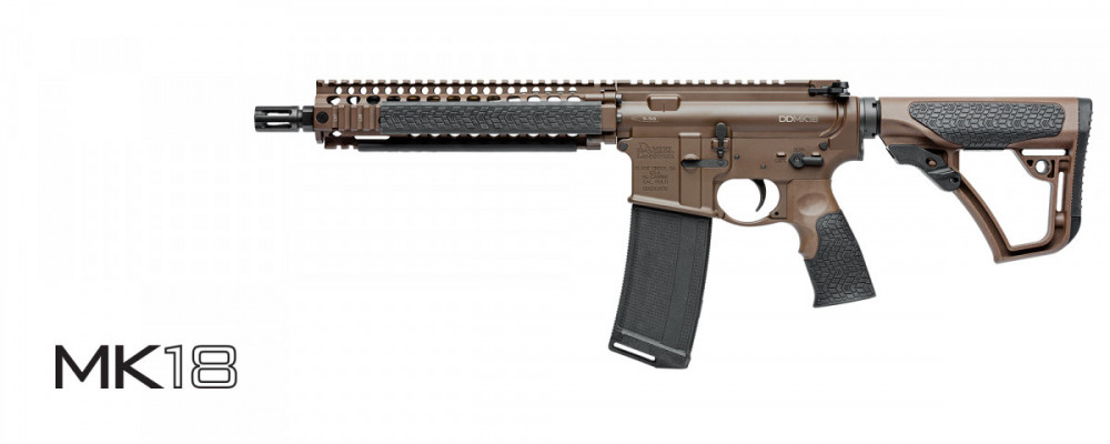 Samonabíjecí puška Daniel Defense –  DD MK18 (MIL SPEC +®)