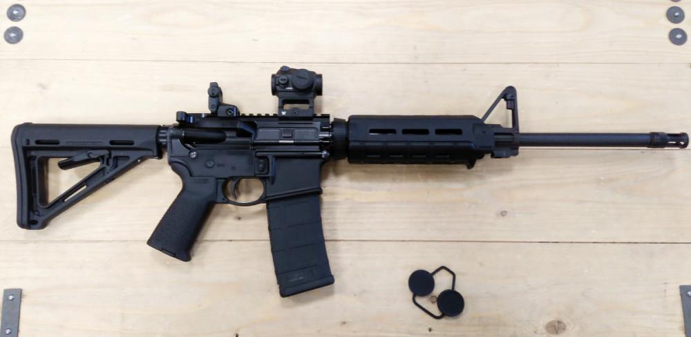 VÝHODNÝ BALÍČEK! Puška Ruger AR-556 + Vortex Crossfire č.1