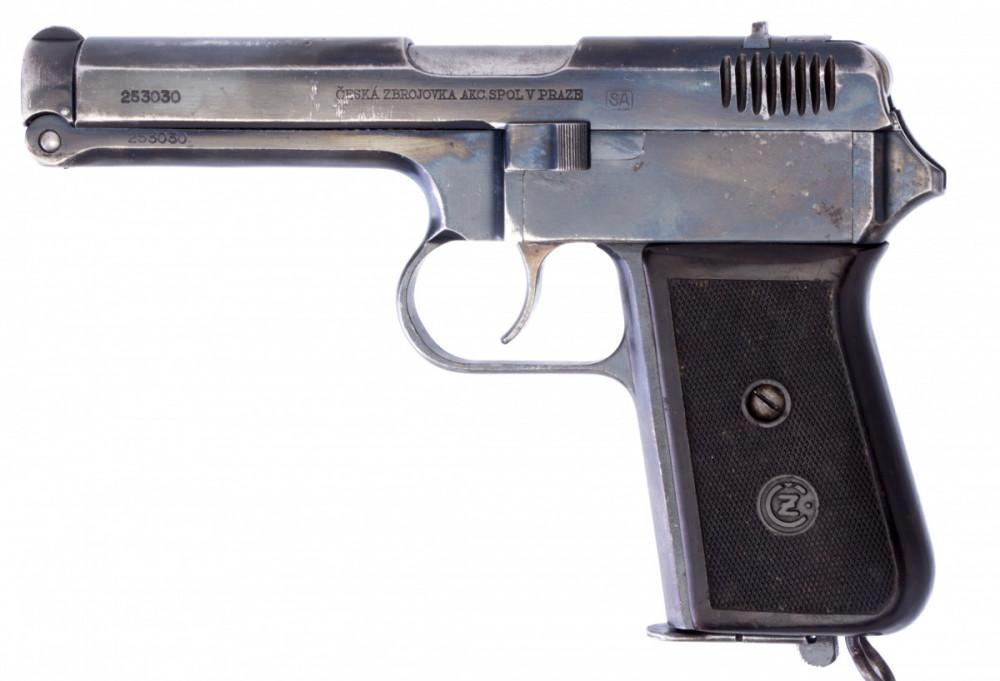 Pistole ČZ vz. 38 č.1